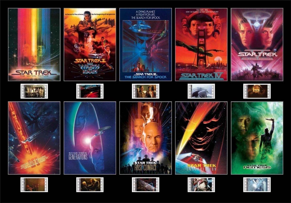 Star trek movie posters